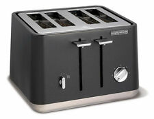 Morphy Richards 240006 Scandi 4 Slice Toaster, Titanium