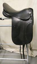 "USED Kieffer Aachen Dressage Saddle - 16"" seat, Black"
