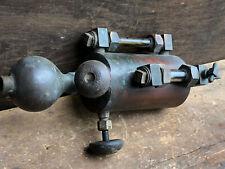 """Antique Detroit Lubricator Brass Oiler Hit Miss Steam Engine ~ 1 Pt ~ 14 3/4"""""""