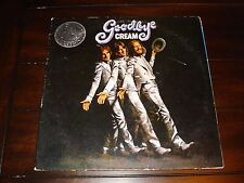 "CREAM ""GOODBYE"" EXCELLENT CLASSIC ROCK PROMO GATEFOLD LP VINYL RECORD FREE SHIPP"