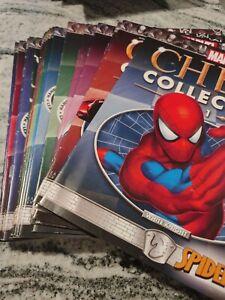 MARVEL & DC COMICS CHESS COLLECTION MAGAZINE LOT BATMAN SPIDER-MAN 1 2 SPECIALS