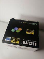HDMI to 5RCA RGB Component YPbPr Video +R/L Audio Adapter Converter HD TV Black