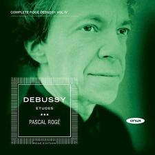 Debussy: Piano Music Vol.4 (12 Etudes), Pascal Roge CD | 0880040405627 | New