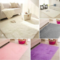 120x170cm Fluffy Rug Anti-Skid Shaggy Area Rug Dining Room Home Carpet Floor Mat
