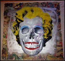 MR BRAINWASH 1/1 REBORN ANDY WARHOL VARIANT ORIGINAL SCREEN PRINT Skull Banksy