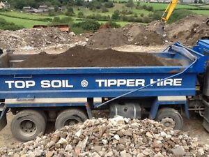 Top soil 16 tonne load delivered - Landscaping, gardening, building - Midlands