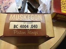 Hudson Hornet piston rings x.040. Offer ends Dec 20