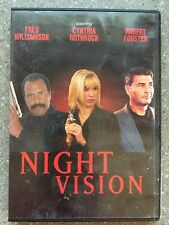 Night Vision - Cynthia Rothrock - Fred Williamson - Robert Forster - DVD