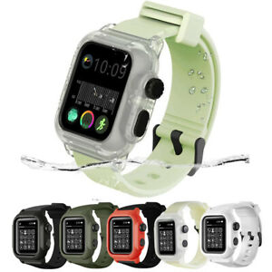 Waterproof Tactical Rugged for Apple Watch Band & Case Fits Series 1 2 3  42MM