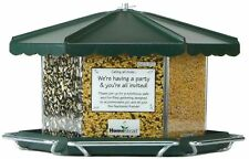New listing Homestead Triple Bin Party Bird Feeder (Green River Texture) - 3500