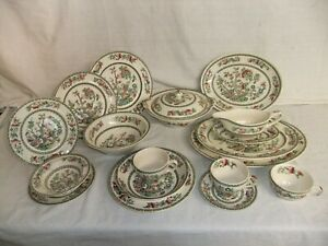 c4 Pottery Ironstone Johnson Bros - Indian Tree - large selection of items 1B3E