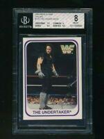 1991 Merlin WWF WWE The Undertaker RC Rookie BGS 8