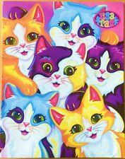 Lisa Frank Whiskers Sisterhood Folder Portfolio Cats Kittens 2001