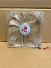 Coolmax LY 13525M12S-L 135x25mm Power Supply Replacement Fan, Blue LED, 2Pin