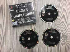 *** Family Games Compendium *** PS1 PS2 PS3 *** 20 Spiele auf 3 CDs ***