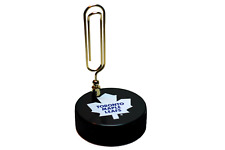 Toronto Maple Leafs Old Logo NHL Basic Series Hockey Puck Note Holder