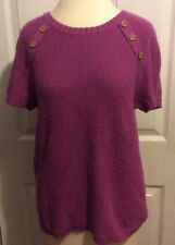 Christopher and Banks s purple sweater top  Shirt