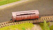"DB Lidded wagon (weathered)    by MINITRIX    ""BOXED""    N Gauge"