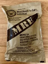US ARMY MRE Meal Ready to Eat Menu 14 - 2022 MRE US ARMY Military Sterile clean