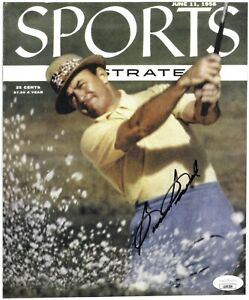 Sam Snead signed 1956 Sports Illustrated 8x9.5 Photo-JSA (Ford Motor Promo 4 pg)