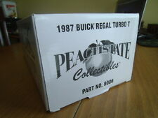GMP Buick Regal Turbo T  1987 Plate # 2151 Part # 8006 1/18