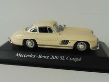 Mercedes-benz 300 sl Coupe 1955 1/43 maxichamps 940039002 by Minichamps White