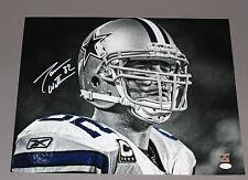 Jason Witten Signed/Autographed Dallas Cowboys B/W 16x20 JSA