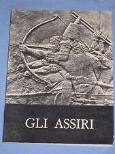 GLI ASSIRI La scultura dal regno di Ashurnasirpal II al regno di ...Catalogo(M3)