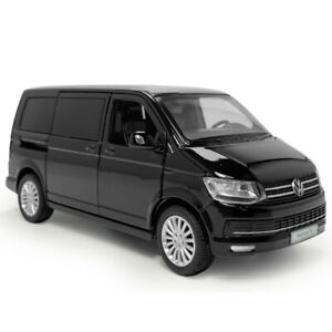 1:32 VW Multivan T6 MPV Model Car Diecast Gift Toy Vehicle Kids Black Sound