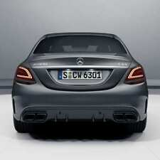 C 63 AMG Facelift Diffusor C-Klasse W205 S205 Limousine & T-Modell Nightpaket