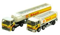 """The Trailer Collection """"Shell"""" (2 Trailer Set) 1/150 N scale Tomytec Free Ship"""