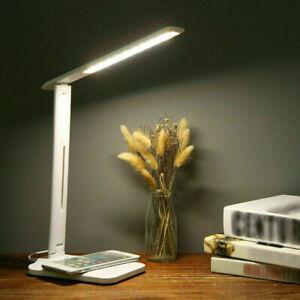 LED Schreibtischlampe Tischlampe dimmbar Leselampe Büroleuchte 7W USB Leuchte