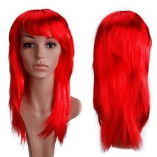 """19"""" Part Costume Wig Curly Full Bang Wig Halloween Anime Cosplay Fancy Dress th"""