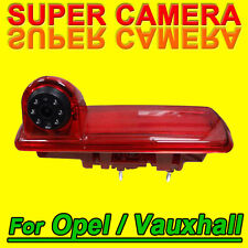 Brake light car camera for opel Vauxhall Nissan Renault Trafic Fiat Talento LED