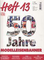 MEB Modelleisenbahner Heft 13 Nr. 3/2003 50 Jahre Modelleisenbahner