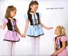 Dance Costume Lyrical Dress Ballet Pageant purple sisters