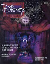 Disney Magazine Spring 1995 Indiana Jones Adventure, Pocahontas, Blizzard Beach