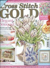UK CROSS STITCH GOLD MAGAZINE October 2007 ~ 50th Birthday Issue ~ Lilliput Lane