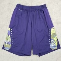 Nike Kobe Shorts L Hyperelite Power Mens Basketball Dri Fit Neon Drawstring L