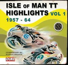 ISLE OF MAN TT HIGHLIGHTS VOL. 1 1957-1964 CD. MURRAY WALKER. 40 MINS. DMCD9901.