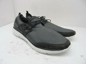Unbranded Men's Low-Cut Elastic Athletic Sneakers Grey/Black Size 13M