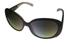 Esprit Sunglass Black / Clear  Fashion Wrap, Smoke Gradient Lens 19377 538