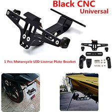 Moroecycle CNC License Plate Holder Bracket LED Rear Light Fender Eliminator Kit