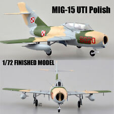MIG-15 UTI Polish  Air Force 1/72 aircraft finished plane Easy model