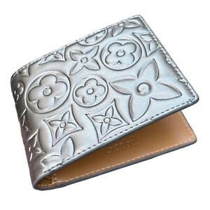 Imran Potato - Metallic Monogram Wallet