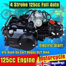 125cc Auto Engine Motor Electric Start ATV Quad Go Kart 70cc 110cc  Dirt bikes