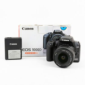 Canon 1000D and Canon EF-S 18-55mm Kit - Boxed - Very Good
