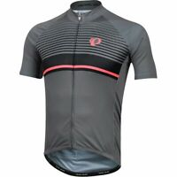 Pearl iZUMi Elite Pursuit Graphic Jersey, Smoked Pearl/Black Diffuse, Large