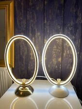 oval lamp Gold