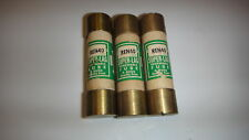 Lot of 3 REN 40 Super-Lag Renewable Buss Fuses    New